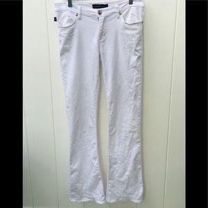 Rock n Republic kassandra white pants size 10